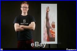 Sideshow Superman & Captain America Print Set SIGNED ALEX ROSS POSTER LITHOGRAPH