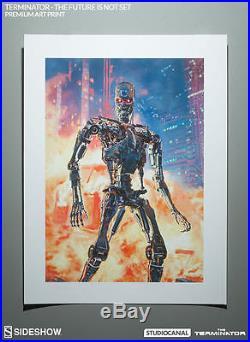 Sideshow Terminator Print, Future Is Not Set, Lithograph, Comics