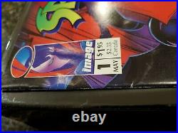 Spawn #1 1992 Image Comic Book Newsstand Variant Poster Intact