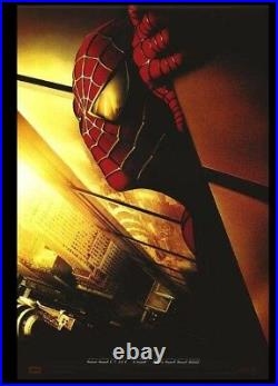 Spiderman movie poster with twin towers