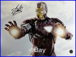 Stan Lee Autographed Singed IRON MAN Poster (Stan Lee Authenticated)1