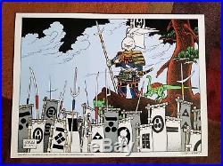Stan Sakai Signed 271/400 Usagi Yojimbo Limited Silkscreen Print Poster 24x18