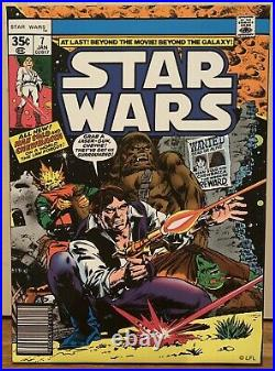Star Wars Comic Book Illustration Poster Canvas Wall Prints, Set Of 3