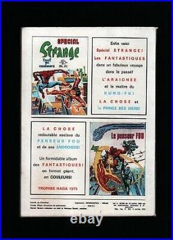 Strange N°67 + Poster. Eo. Lug. 1975. Daredevil / Iron Fist / L'araignée