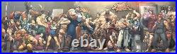 Street Fighter Super Wide Jam Poster Udon Brand New! Ken Ryu Akuma 60 x 18