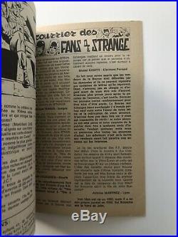 Superbe STRANGE N° 70 E. O LUG 1975 TTBE POSTER attaché encarté Quasi NEUF