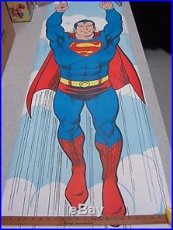 Superman Door Poster Approx. 71X24.5in Poster Prints DC Comics 1971
