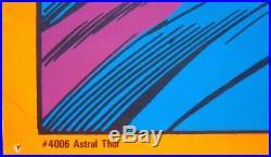 THOR ASTRAL THOR ASGARD MARVEL THIRD EYE Black light poster TE4006 JACK KIRBY