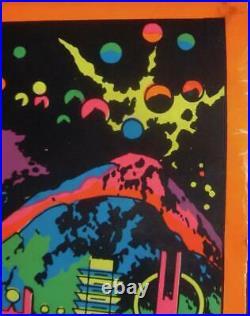 THOR ASTRAL THOR MARVEL THIRD EYE Black light poster TE4006 JACK KIRBY
