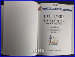 TINTIN Septimus Lhistoire de la Marine des origines à 1700 Très bon état