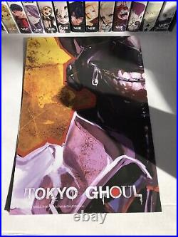 TOKYO GHOUL COMPLETE MANGA BOX SET (with Poster)