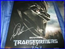 TRANSFORMERS CGC SS Signed Movie Poster Set by Peter Cullen /Frank Welker