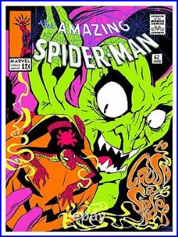 The Amazing Spider-Man To Crush a Spider Comic Book Poster Art Ciro Nieli Mondo