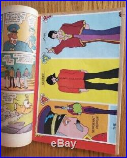 The Beatles Yellow Submarine Comic With Nm Poster Inside (1968)