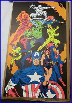 The History of Comics Calendar poster cover print Signed Jim Steranko MT