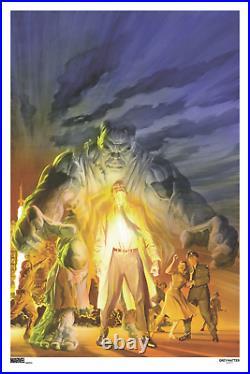 The Immortal Hulk #20 Variant Comic Book Cover Art Poster Print #/125 Alex Ross