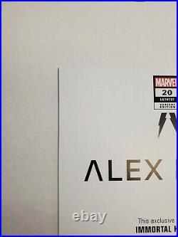 The Immortal Hulk #20 Variant Comic Book Cover Art Print 125 Alex Ross Poster