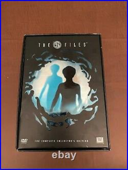 The X Files Complete Collectors Edition DVD 61 Disc Poster, Comic Book, etc