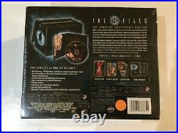 The X Files Complete Collectors Edition DVD BRAND NEW! Poster, Comic Book, etc
