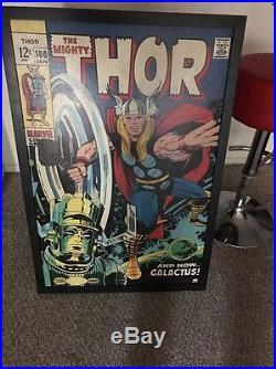 Thor Galactus Marvel Poster