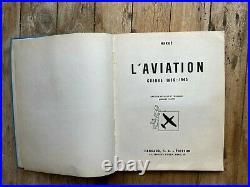 Tintin Hergé Album chromos L'aviation guerre 1939-1945 (1953) BE++