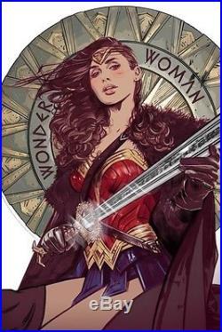 Tula lotay Wonder Woman Movie print art Mondo poster female comic book hero