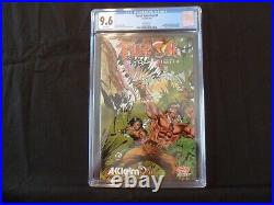 Turok Evolution (Acclaim) #1 Poster Attached CGC 9.6 Comic EB GAMES EXCLUSIVE