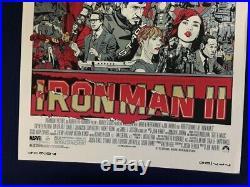 Tyler Stout Iron Man 2 Alamo Draft House (Regular) Poster Print 24 x 36