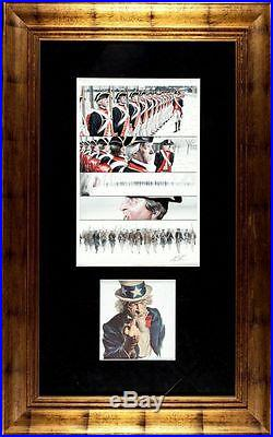 Uncle Sam Promotional Poster Group of 2 By Alex Ross Page 15 Original Art