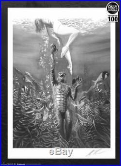 Universal Monsters Art Print by Alex Ross Art Lithograph Set no. 50/100