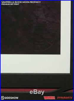 Vampirella Premium Art Print Sideshow Signed ARTGERM Stanley Lau LE 500