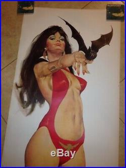Vampirella Vintage Lifesize Poster MINT Circa 1972