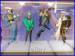 Villains of Gotham City Sericel Limited edition 1994 Batman 1281/5000