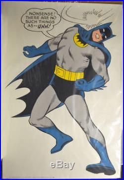 Vintage 1966 BATMAN POSTER 27x40 DC / G & F Posters High Grade Rare