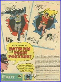 Vintage 1966 Batman Poster G & F Posters NYC Robin & Joker