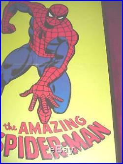 Vintage 1976 AMAZING SPIDER-MAN POSTER