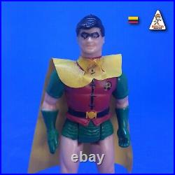 Vintage 1987 Robin Super Powers Colombian Release Gulliver Original Poster DC