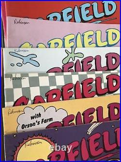 Vintage Garfield Comics x54 Jim Davis Lot/Bundle 1989-1993 Posters