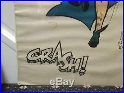 Vintage Robin Batman Joker BLAM CRASH Ho Ha Color Poster G & F Posters 1966