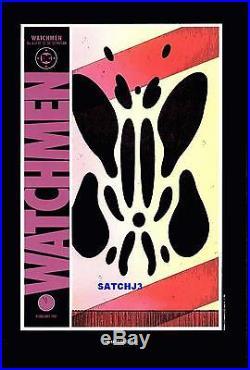 Watchmen Comic Covers #1-12 Poster Art Prints Alan Moore Gibbons 1988 DC Comics