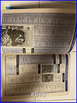 Wizard Comics Magazine 1 Newsstand UPC Variant withCenterfold Poster VF 1991 Rare