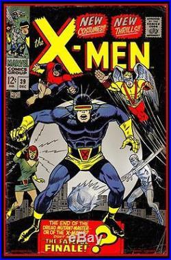 X-MEN 39 Signed Limited edition print #75 MATT DYE BLUNT GRAFFIX