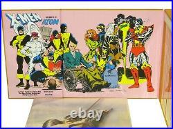 X-Men Children of the Atom Box Set Marvel Sealed Books + Poster