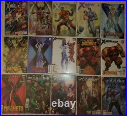 X-men Black Death Of Wolverine Magneto Campbell Variant Lot N/m Plus 2 Posters