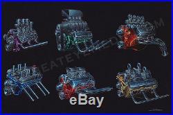 Zombie-art Print-chevy, Ford, Hot Rod, Engine, Rat Rod, Cars, Ed Roth, Lowrider, Dodge